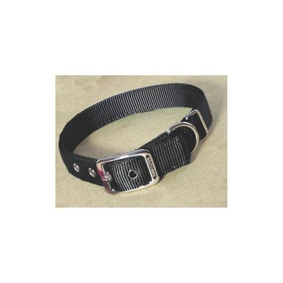 Hamilton Pet Products Double Thick Nylon Deluxe Dog Collar in Black