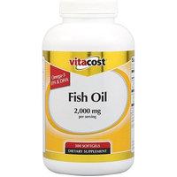 Vitacost Brand Vitacost Fish Oil EPA 360 mg / DHA 240 mg per serving -- 300 Softgels