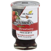 Braswell's All Natural Strawberry Preserve, 11.0 oz, (Pack of 6)