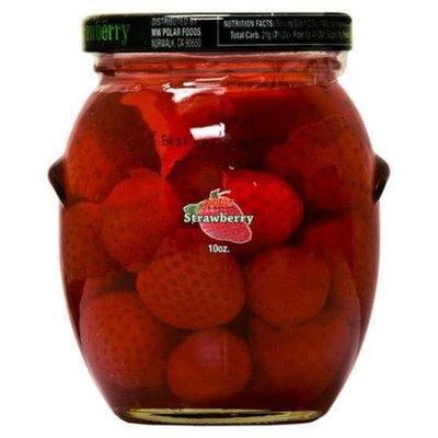 Polar   Polar Strawberry In Light Syrup, 10 oz