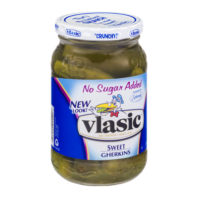 Vlasic No Sugar Added Sweet Gherkins