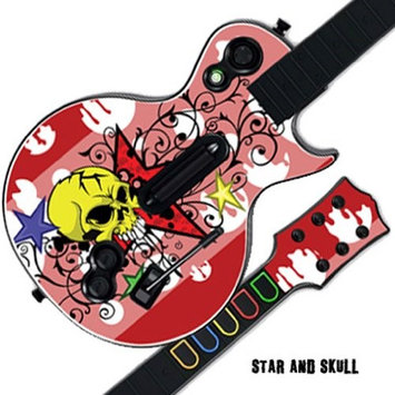 MightySkins GUITAR HERO 3 III Faceplate Skin Skins for PS3 Xbox 360 Les Paul - Star and Skull