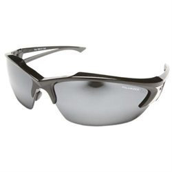 Wolf Peak International Wolf Peak TSDK21-G15-7 Khor Polarized - Black / G-15 Silver Mirror Lens
