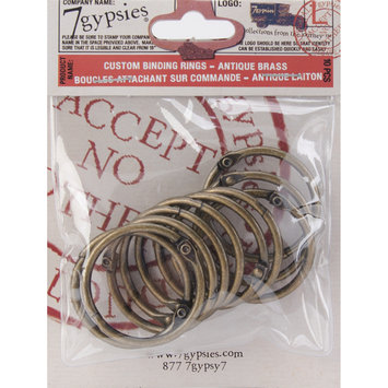 7 Gypsies 7G-BR-12384 Custom Binding Rings Medium 1.5 Inch