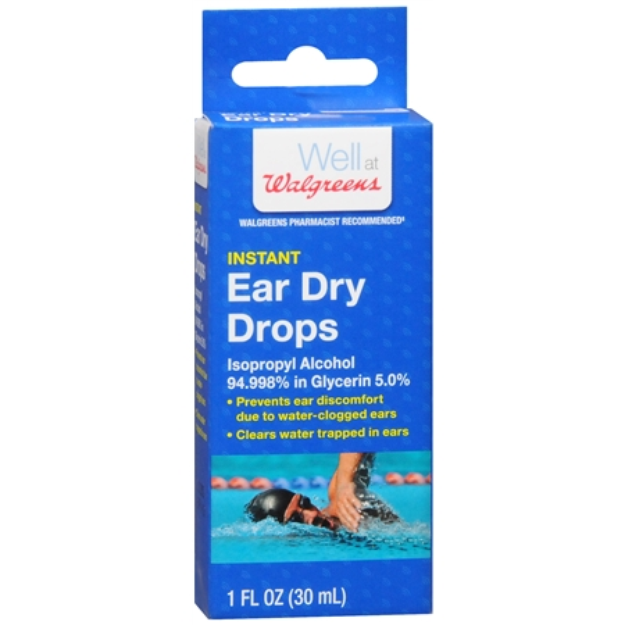 Walgreens Instant Ear-Dry Drops