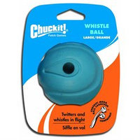 Canine Hardware 20230 Blue Whistle Ball 3 Inch/1 Pack
