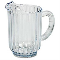 Rubbermaid 333800CR Bouncer Plastic Pitcher 60-oz. Clear