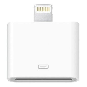 Apple Lightning to 30-pin Adapter - White (MD823ZM/A)