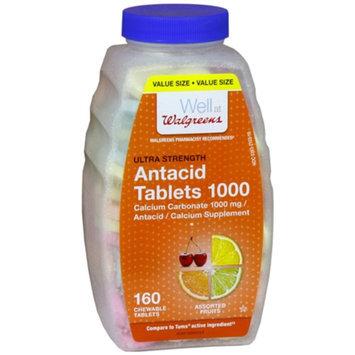 Walgreens Ultra Strength Antacid/Calcium Supplement Chewable Tablets