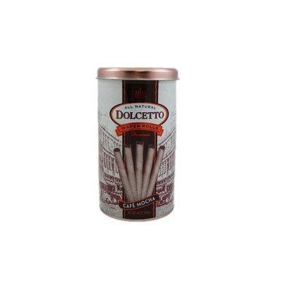 Dolcetto All Natural Wafer Rolls Premium (Café Mocha) (1 x 14.1 OZ)
