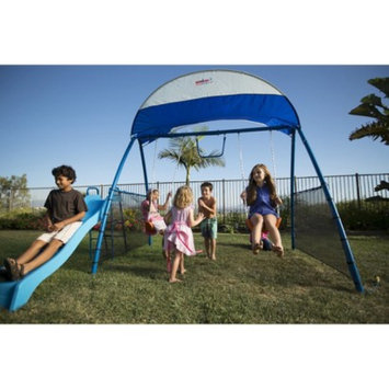 IronKids Challenge 150 Refreshing Mist Swing Set - Blue
