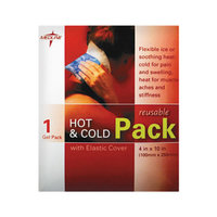Medline Reusable Hot & Cold Pack, w/Protective Cover