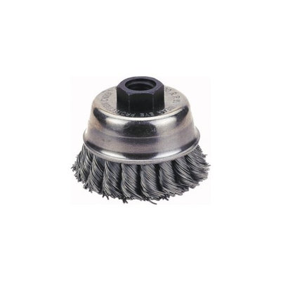 FirePower Firepower 1423-2110 Knotted Type Wire Cup Brush 3-inch Diameter