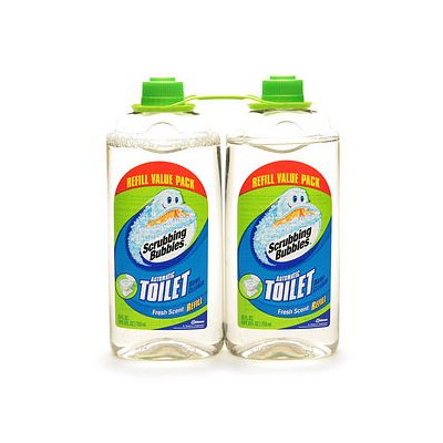 Scrubbing Bubbles Automatic Toilet Bowl Cleaner Twin Pack Refill