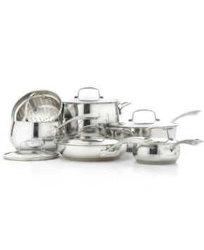 Tools Of The Trade Belgique Stainless Steel 11 Piece Cookware Set