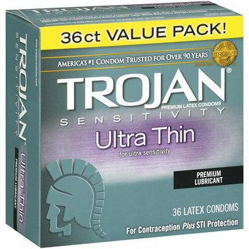 Trojan Sensitivity Ultra Thin Premium Lubricant Condoms