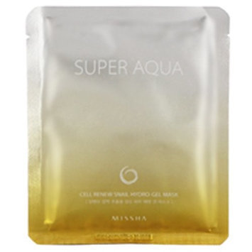Missha Super Aqua cell renew snail hydro-gel mask 28g