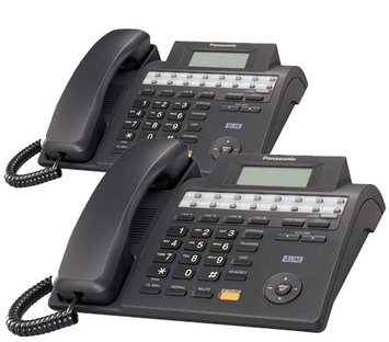 Panasonic KX-TS4100B (2 Pack) Expandable 4-Line Integrated Phone System