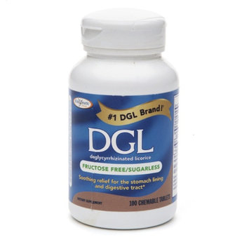 Enzymatic Therapy DGL-Fructose Free