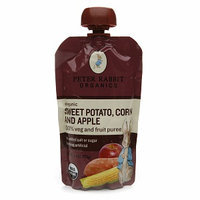 Peter Rabbit Organics 100% Veg & Fruit Puree