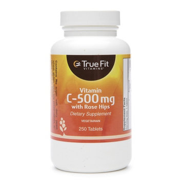 True Fit Vitamins Vitamin C-500mg with Rose Hips