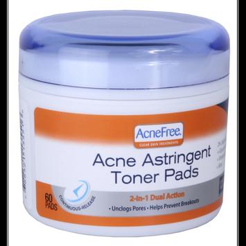 Acne Astringent Toner Pads
