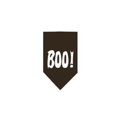 Ahi Boo! Screen Print Bandana Cocoa Large