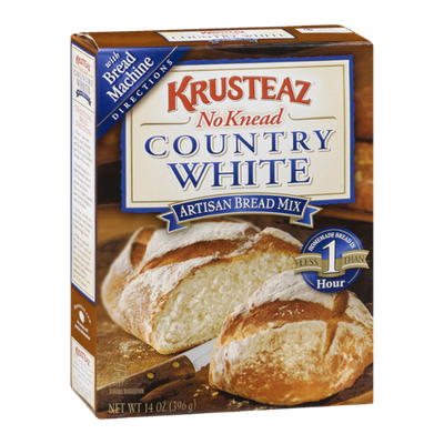 Krusteaz No Knead Artisan Bread Mix Country White