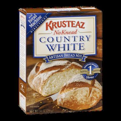 Krusteaz No Knead Artisan Bread Mix Country White