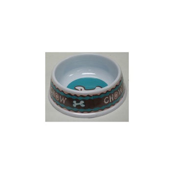 Ethical Pet Products (Spot) DSO6862 Designer Chow Plastic No-Tip Dog Dish, 6-Inch