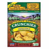 Crunchies Freeze Dried Snack Food Pineapple