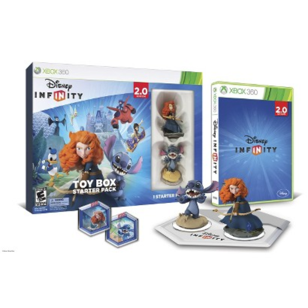 Disney Infinity: Toy Box Starter Back 2.0 Edition (Xbox 360)