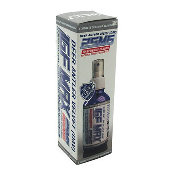 Athlete Certified Nutrition - IGF MAX 25 Deer Antler Velvet DAV Raspberry Flavor 25 mg. - 1 oz.