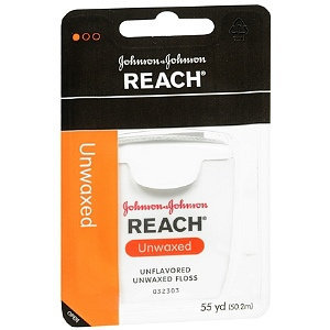 REACH® Unwaxed Dental Floss