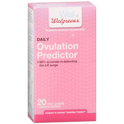 Walgreens Daily Ovulation Predictor Test Strips