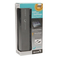 Sony Portable Power Charger 2,000 mAh, Black, 1 ea