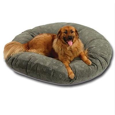 Hidden Valley SuperSoft Round Poly-Suede Dog Bed