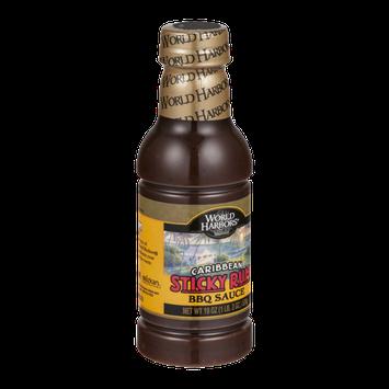 World Harbors Caribbean Sticky Rum BBQ Sauce
