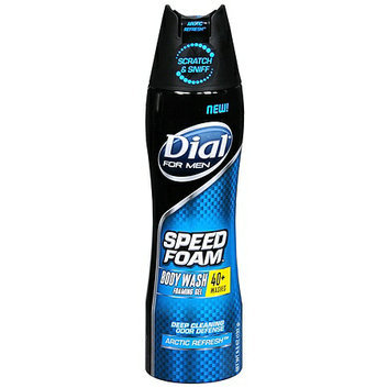 Dial® For Men Speed Foam Body Wash Foaming Gel Arctic Refresh