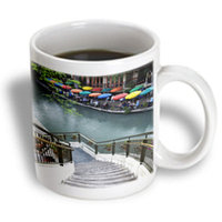 Recaro North 3dRose - Danita Delimont - Texas - River Walk and San Antonio River, San Antonio, Texas - US44 AJE0039 - Adam Jones - 11 oz mug