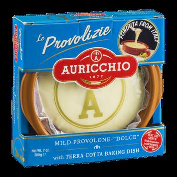 Auricchio Mild Provolone with Terra Cotta Baking Dish