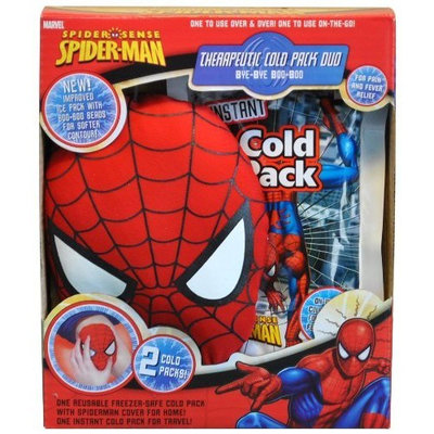 Bye-bye Boo-boo Spider-man Therapeutic Cold Pack Duo