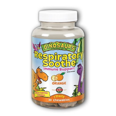 Respiratory Soothe Orange Kal 30 Chewable
