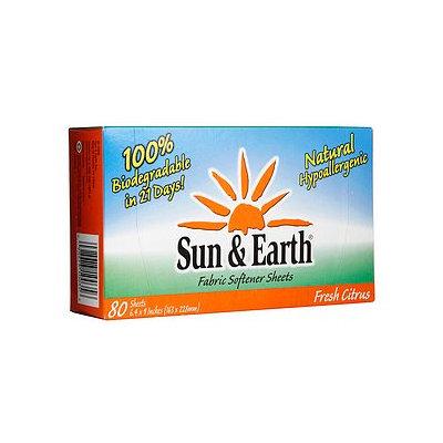 Sun & Earth Fabric Softener Sheets