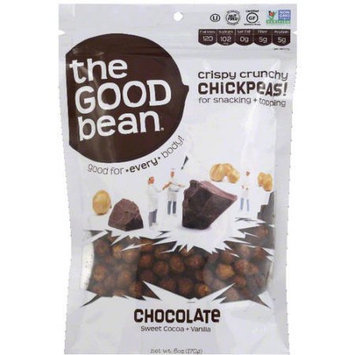 The Good Bean Chocolate Chickpeas, 6 oz, (Pack of 6)