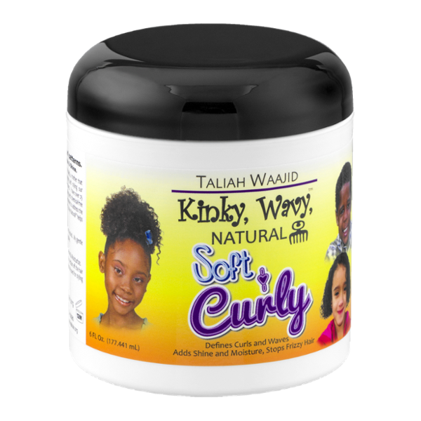 Taliah Waajid Kinky, Wavy, Natural Soft & Curly