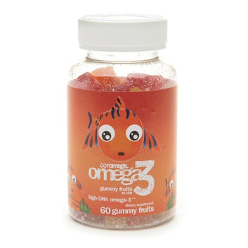 Coromega Omega 3 Gummy Fruits for Kids