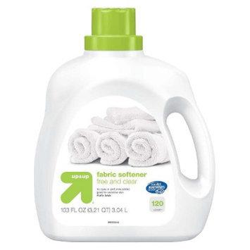 up & up Free & Clear Liquid Fabric Softener 100 oz