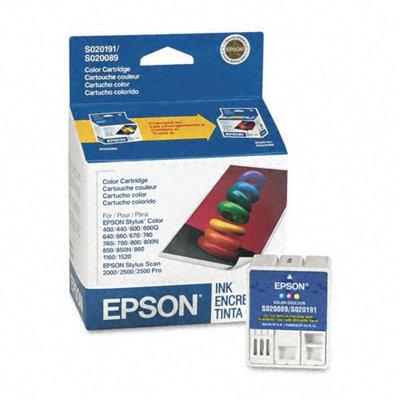 Kmart.com Epson S191089 Tri-Color Inkjet Cartridge, Standard-Yield