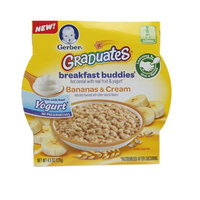 Gerber Graduates Breakfast Buddies Cereal, Bananas & Cream, 4.5 oz